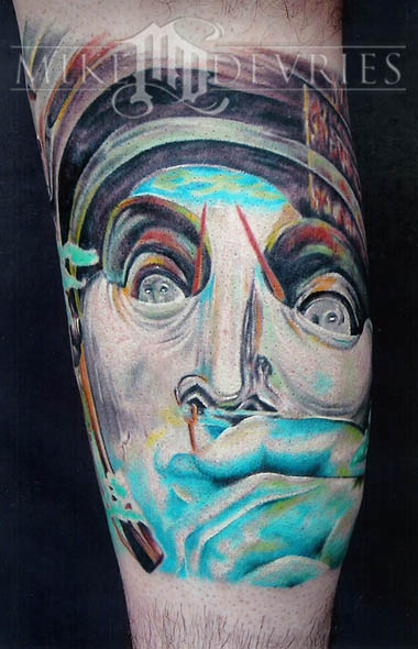 Tattoos - Dali Tattoo - 16544